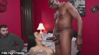 MileHigh Horny MILF Cuckold with BBC porno