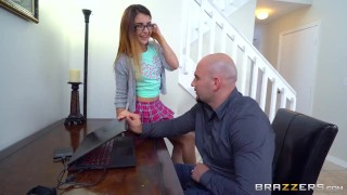 Brazzers - Naughty teen Sally Squirt takes big cock  ass riding teen booty small brazzers skinny young brunette daughter petite shaved teenager small boobs brunnette
