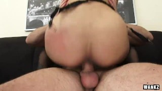 Outrageously Hot Step-mom Nadia Loves Young Dick