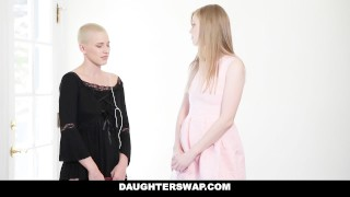 DaughterSwap - Gothic Sluts Fucked By BFFS dad pt.1
