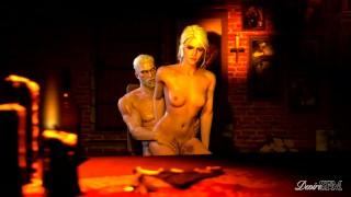 The Witcher An Autumn Day Geralt and Ciri