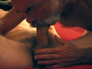 Sucking Cock on a Saturday Night