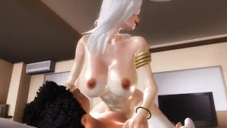 Living With An Angel - 01  3d hentai point of view riding hentai femdom pov anime straddle tk17 3d cowgirl 60fps angel girl on top