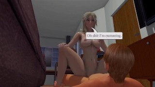 Cute Specter - 01  3d hentai point of view riding hentai femdom blonde pov anime straddle tk17 3d cowgirl 60fps girl on top