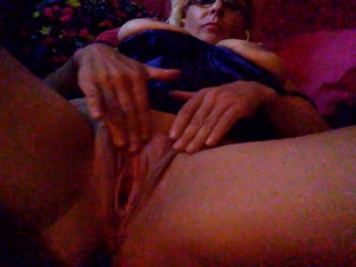 Riding Suction Cup Dildo Fucking, horny and wish your face was buried In my pussy Big Tits Blonde Masturbation
