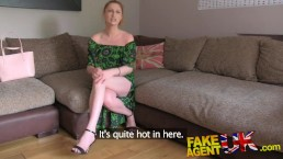 FakeAgentUK finger fucking ass licking and cum drenched pussy for redhead