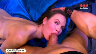 Round girls goo bubbly ass german luisa's ggg blowjob