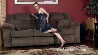 And strips royalle couch masturbates rococo on her lingerie masturbate