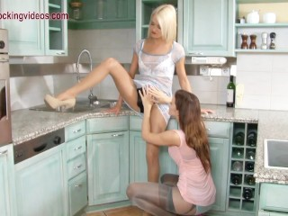 Teen first lesbian seduction