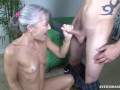 : Granny's sex toy