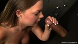 Pornstar Katy Karson visits preist for a blowjob confession