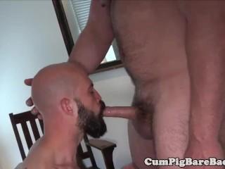 Massive male hairy ass