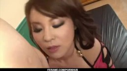 Airi Ai enjoys cock between her tits and lips