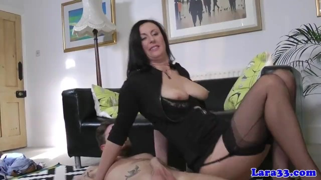 Harlow - male escort Glamour milf banged by male escort