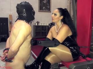 The hardships of being My collared slave - Goddess Ezada Sinn