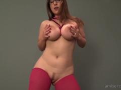 Asian girl in bra