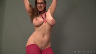Amber p strip dance butt curvy