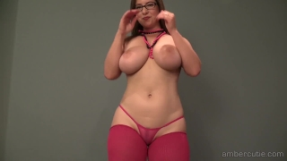 Dance p amber strip masturbate high