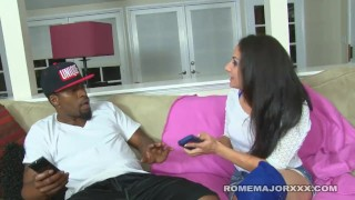 Rome ryder takes cock black her ass up sheena fuck big