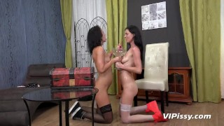 Fifth ave wet strapon lesbians skinny fetish