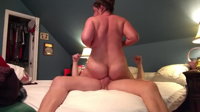 Amateur Cougar Beckys First Time Anal Cowgirl -8187