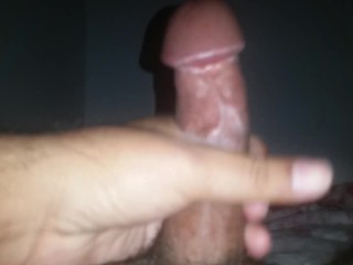 Pleasing myself while wife is away