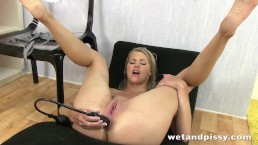 Double penetrated piss drinking super slut