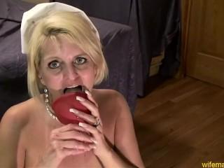 Nurse Gape Blonde Milf Whore Anal Nurse Cosplay