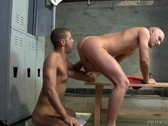MenOver30 Locker Room Rimjob and Anal