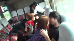 Asian sex bus game!