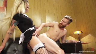 Aubrey kate fucking so is goddamn hot tgir big