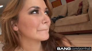 BANG.com: Allie Haze Fucks For Fun Mouth blowjob