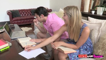 Teen Lia Lor Has Is Super Horny For He BF's Stepmom Brandi Love