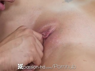 Passion-HD - Gia Storm ice cold pussy warmed and fucked by Danny Mountain