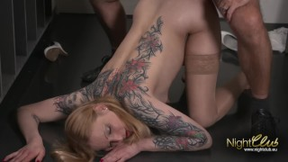 Kitty Blair - Blowjob in Pussy und Anal gefickt Squirting dildo