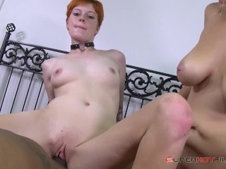 Wife Breeding Forum Fucking, SuperHot Films : Two snowbunnies fuck me real good. Blonde Interracial Pornstar
