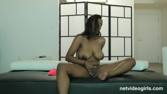Busty black girl - 19yr black busty first timer creampied at calendar audition