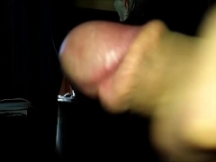 MILKING MY DICK