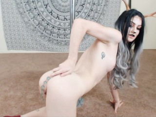 Lydia Black is Fawn-d of things in her ass~