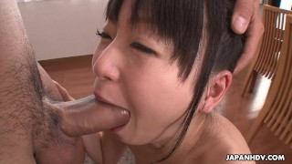 Over rock the dick fella's hard nozomi all slobbering bj japanese