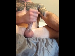 Big cock balls and a huge nut
