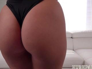 4K Beautiful Abigail Mac loves a big dick and lots of cum!