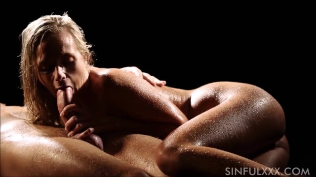 Slow handjob Sensual slow handjob and blowjob