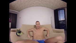 Andrea just with surez virtualrealgaycom you vr manscaping