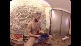 VirtualRealGay.com - The Shower Sex toned