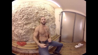 VirtualRealGay.com - The Shower Muscles gays