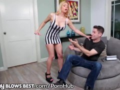 Rachel Roxx Facialed by Hung Stepson