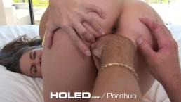 HOLED - Follando el culo virgen de Cassidy Kleins