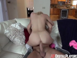 Digital Playground- College Chick Sucks First Big Dick