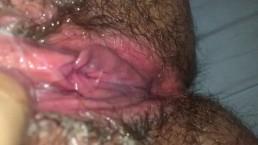Creamy pussy orgasm